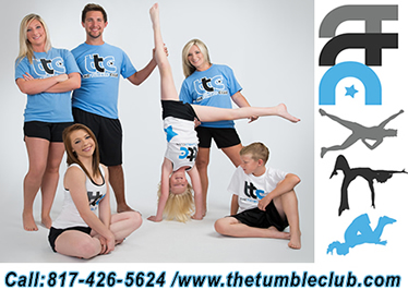 Learn to Cheer, Dance, Tumble, Make Friends and Create a Lifelong Impression. The Tumble Club in Burleson, Texas. Call 817-426-5624